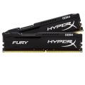 Kingston 2x4GB DDR4 2133MHz HyperX Fury Black HX421C14FBK2/8 mem�ria