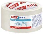 """Csomagol�szalag, 50 mm x 66 m, TESA """"Basic"""", �tl�tsz�"""