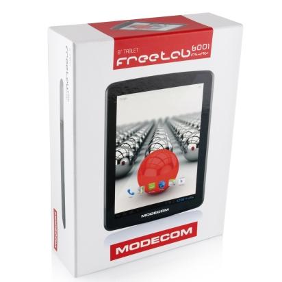 Modecom Freetab 8001 IPS X4 3G+ fekete tablet