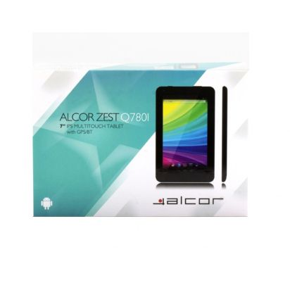 Alcor Zest Q780I 8GB fekete tablet