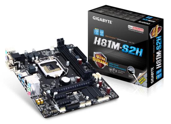 Gigabyte H81M-S2H alaplap