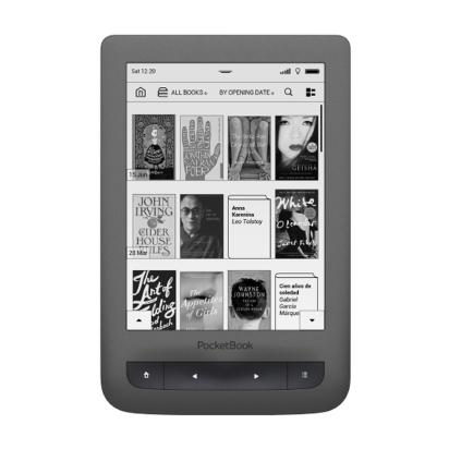 PocketBook Touch Lux 3 PB626-Y-WW-L sz�rke E-book olvas�