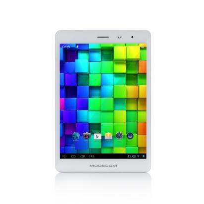 Modecom FreeTab 7.5 IPS X4 3G+ fekete tablet