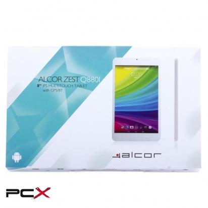Alcor Zest Q880I 8GB feh�r tablet