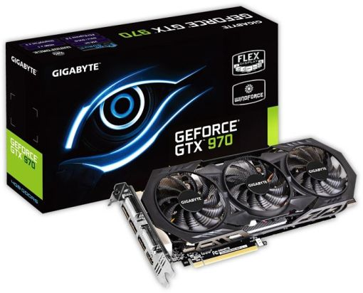 Gigabyte GTX970 4GB DDR5 GV-N970WF3OC-4GD videok�rtya