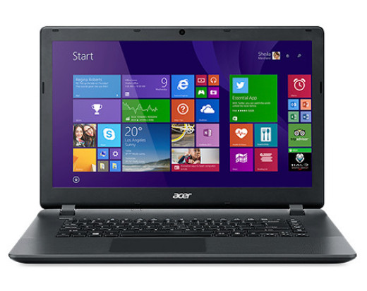 Acer Aspire ES1-520-546F NX.G2JEU.009 fekete notebook