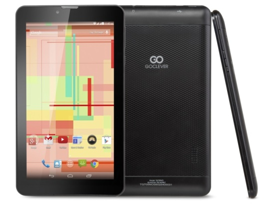 GoClever Quantum 700 Mobile 8GB fekete tablet