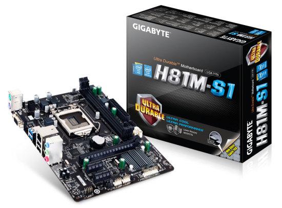 Gigabyte GA-H81M-S1 alaplap