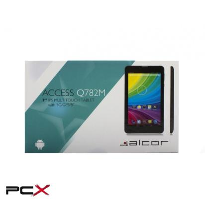 Alcor Access Q782M 3G fekete tablet