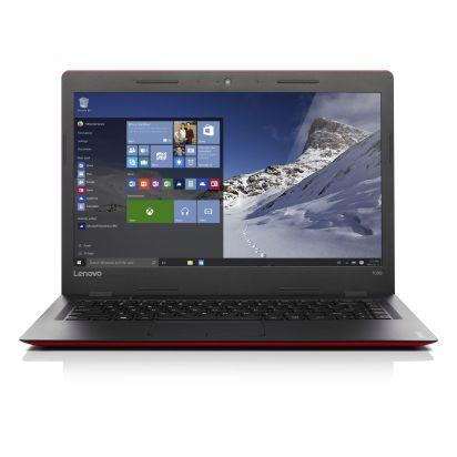 Lenovo IdeaPad 100S 80R9005EHV piros-fekete notebook